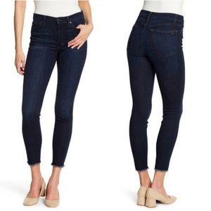 Joe's Jeans | High Rise Skinny Ankle Raw Hem Nwt